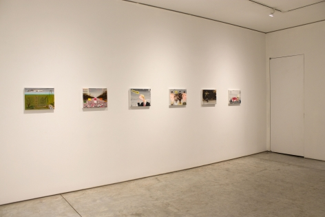 Installation view, Enrique Chagoya, Aliens Sans Frontières, George Adams Gallery, New York, 2018.