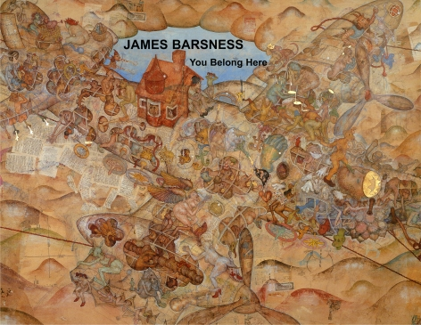 Catalog cover, 'James Barsness: You Belong Here,' George Adams Gallery, 2004
