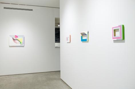 Installation view, Xuan Chen, George Adams Gallery, New York, 2017.