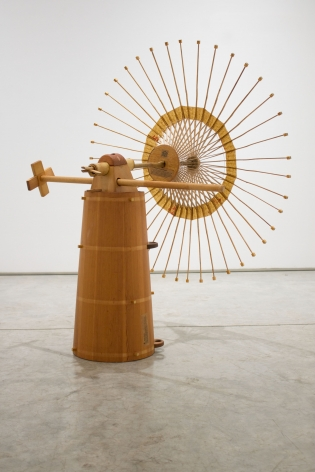 The Unlikely Amalgamation of a Butter Churn, a Couch Leg, and a Japanese Umbrella into a Variable 2017