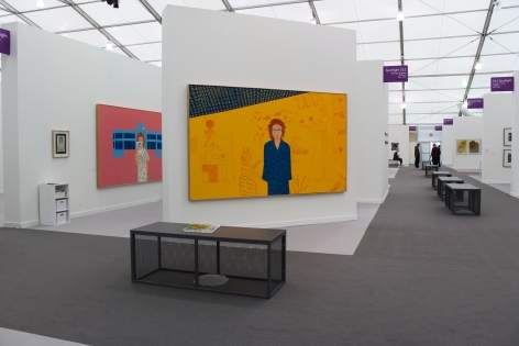 Installation View, Joan Brown, Frieze New York 2019, George Adams Gallery, New York, 2019.