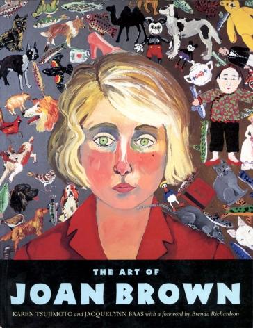 Catalog cover, 'The Art of Joan Brown,' University of California Press, 1998.