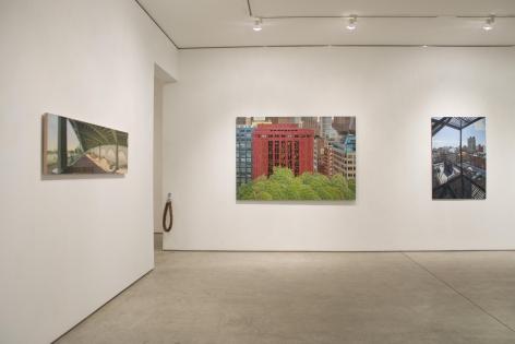 Installation View, Differing Views, George Adams Gallery, New York, 2016.