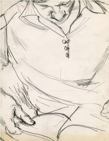 Untitled (Man Reading) c. 1958