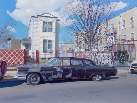 Andrew Lenaghan, Cadillac on Avenue C 2019