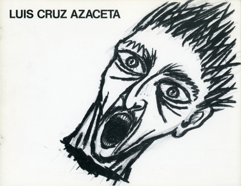 Catalog cover, 'Luis Cruz Azaceta,' Allan Frumkin Gallery, 1984