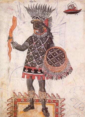 Catalogue cover, 'Enrique Chagoya: Borderlandia,' Des Moines Art Center, 2008.
