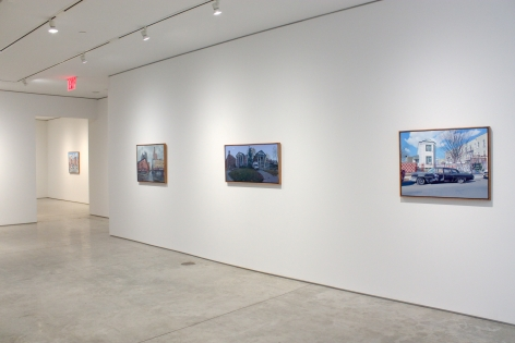 Installation View, Andrew Lenaghan, Places Have Their Moments​, George Adams Gallery, New York, 2020.