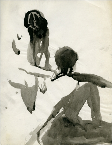 Untitled (Two Models) c. 1963