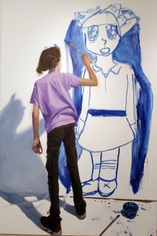Sarah Painting (Sarah Collaboration)