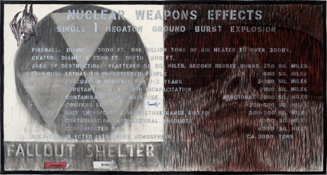 Robert Arneson, Nuclear Weapons Effects, 1984