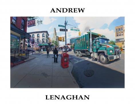 Catalog cover, 'Andrew Lenaghan,' 2020.