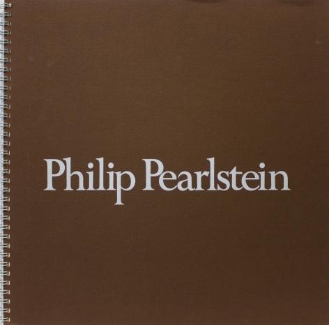 Catalog cover, 'Philip Pearlstein: New Paintings,' Allan Frumkin Gallery, 1982.