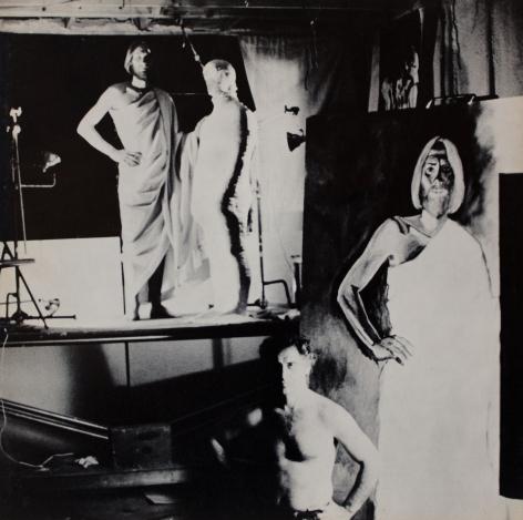 Catalog cover, 'Alfred Leslie,' Allan Frumkin Gallery, 1975.