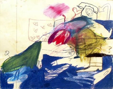 Peter Saul  Untitled, 1960