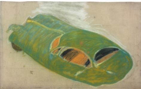 Peter Saul  Green M.G., 1957