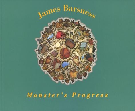 Catalog cover, 'James Barsness: Monster's Progress,' Hard Press Inc., 2000