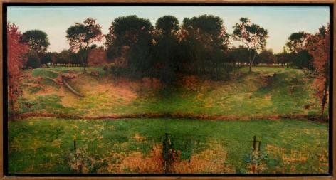 Double Green Landscape 1979-80