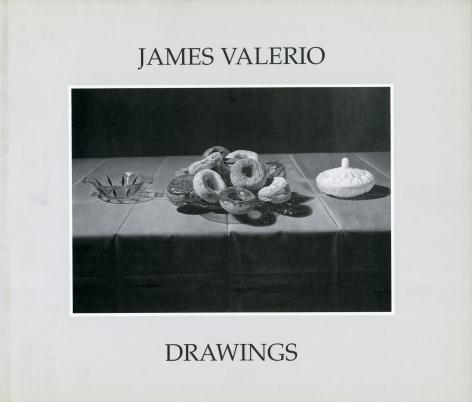 Catalog cover, 'James Valerio: Drawings,' George Adams Gallery, 2001.