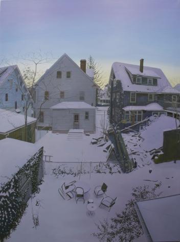 Bedroom Window View #4 (Winter)