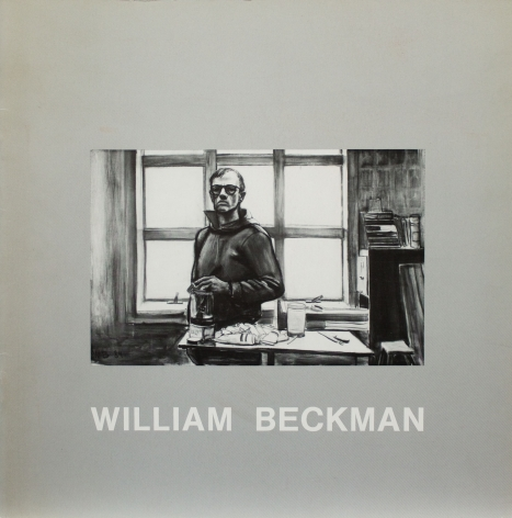 Catalog cover, ' William Beckman: Recent Figure Paintings and Other Works,' Allan Frumkin Gallery, 1985