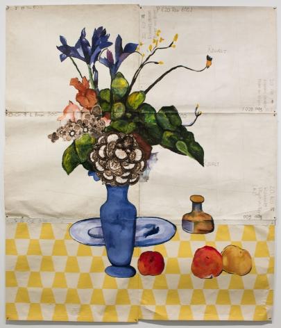 Katherine Sherwood, Blue Vase 2015