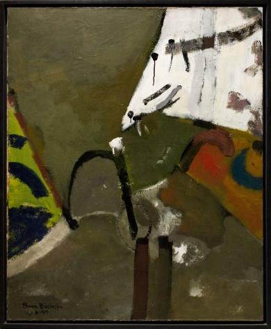 A New Gesture Elmer Bischoff 1946 50 Exhibitions George Adams