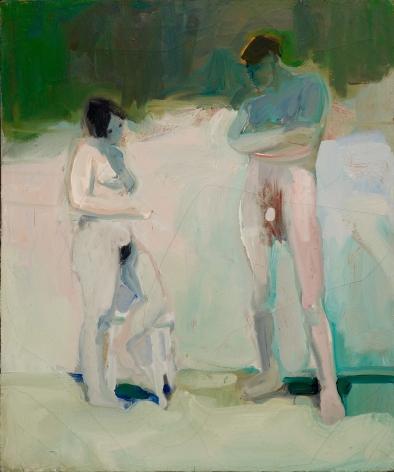 Elmer Bischoff, Untitled (Two Figures), 1960