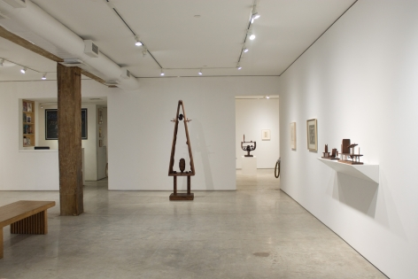Installation view, Jeremy Anderson - Between, Beyond: 1953-64, George Adams Gallery, New York, 2019.