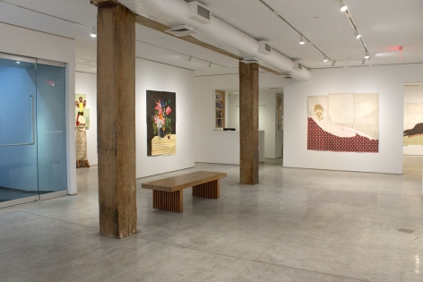 Installation View, Katherine Sherwood, In the Yelling Clinic: 2010-2019, George Adams Gallery, New York, 2019.