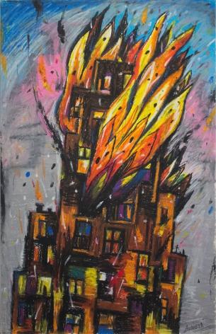 Burning Building I 1986