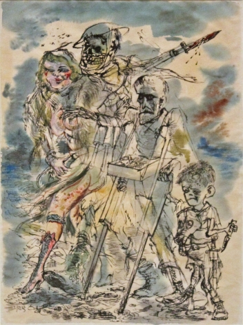 George Grosz The Smell of Defeat, 1943