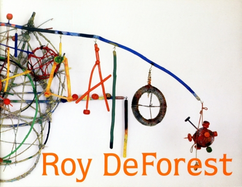 Catalog cover, ' Roy De Forest: New Paintings, Drawings and Constructions,' Allan Frumkin Gallery, 1985