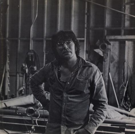 Catalog cover, 'Robert Hudson,' Allan Frumkin Gallery, 1976.