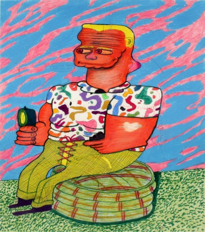 Peter Saul  Pull the String Baby, I'm Hot, 1964