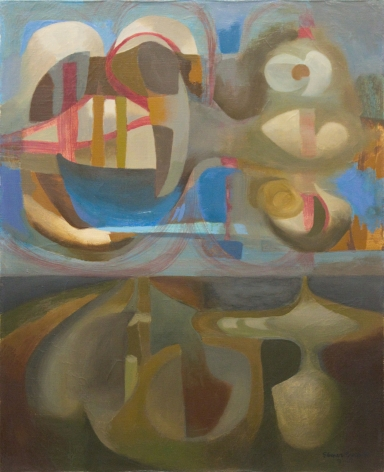 Objects Above and Below Horizon 1947