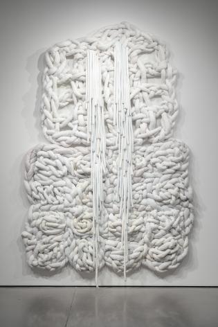 An artwork by Vadis Turner installed at UCCS.