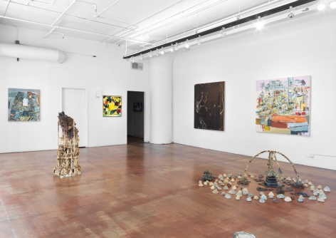 """Installation view, Geary Contemporary, """"Material Mythos"""", 2017"""