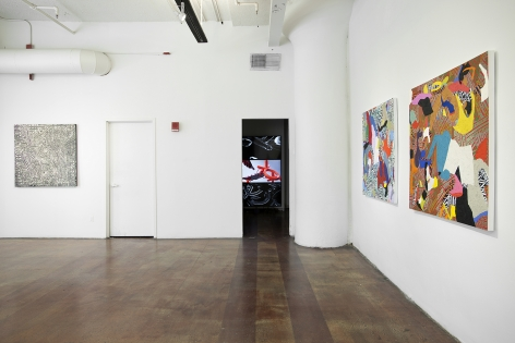 Installation View, Alexander Herzog, Listening Behind the Vocals, Geary Contemporary, 2016