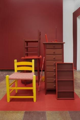 Amie Cunat, Ochre Room, 2018