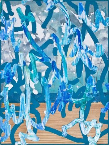 Federico Cattaneo, Blue Rain, 2017