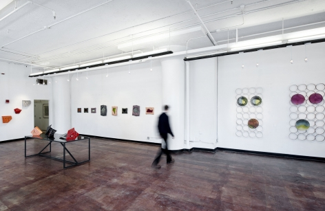 Installation View, Andy Hall, Shapes of Time, Geary Contemporary, New York, 2014