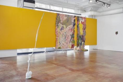 An installation shot of Kristine Woods: Sparkling or Still