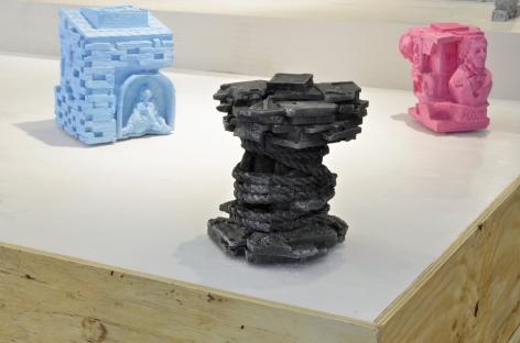 Installation view, William Corwin,Champollion, Geary Contemporary, 2016