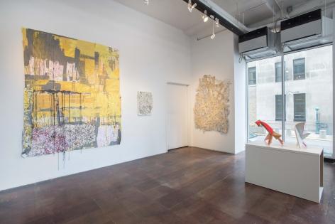 Installation View,David Goodman, Apparatus,Geary Contemporary, 2014