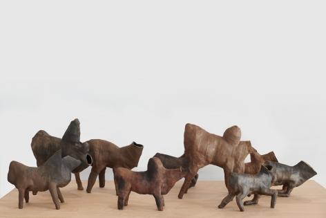 Rhytons, Rachel Frank, 2018,Installation image