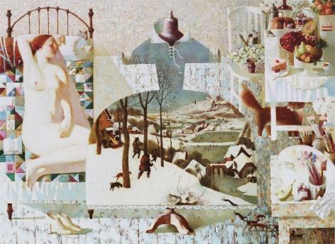 Anna Berezovskaya_Dreaming of Bruegel