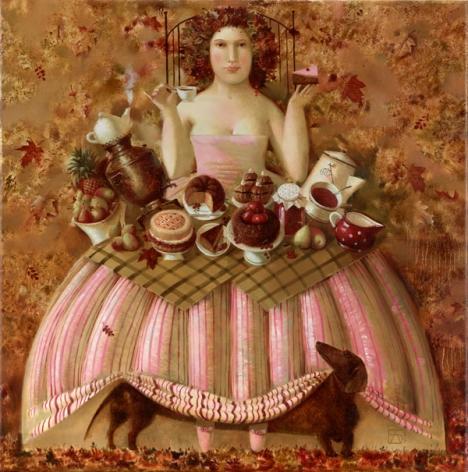 Anna Berezovskaya_Lady and the Dog