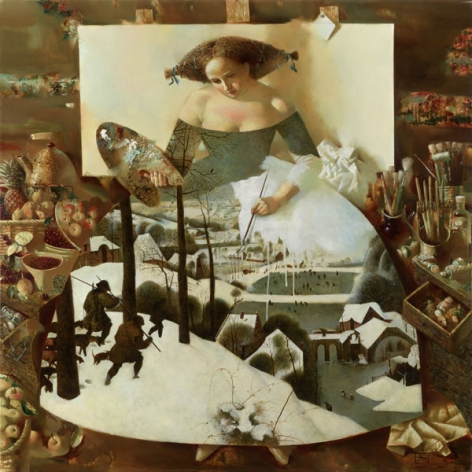 Anna Berezovskaya_Dedication to P. Bruegel