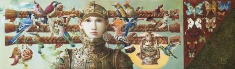 Anna Berezovskaya_The Lady Who Loves Birds